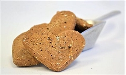 Large Peanut Butter Hearts Treats - 12 lbs Bulk