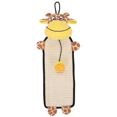 Sisal & Jute Hanging Cat Scratcher With Toy