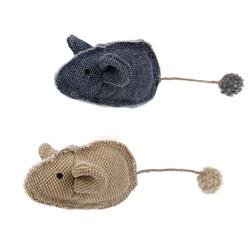 Pompom Plush Mouse Catnip Toy