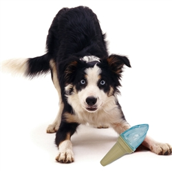 Ice Cream Cone 'Lick And Gnaw' Freezable Dog Chew And Teether Toy by Pet Life