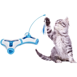 Kitty-Tease Interactive Cat Tunnel Toy by Pet Life