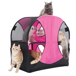 Kitty-Play Obstacle Travel Pet House