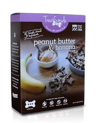 Peanut Butter & Banana - Small Limited Ingredient Treats