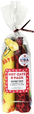 Hot Cats 4-Pack Bag