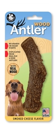 Pet Qwerks Nylon Antlers Dog Chews (3 sizes)