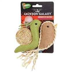 JACKSON GALAXY MARINATER TOY SNAIL/NARWHAL 2PK