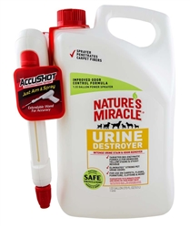 NATURE'S MIRACLE ACCUSHOT URINE DESTROYER 1.33GAL