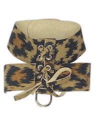 Parisian Dog Harness: Leopard