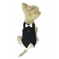 The Dog Father  Pinstriped Tuxedo