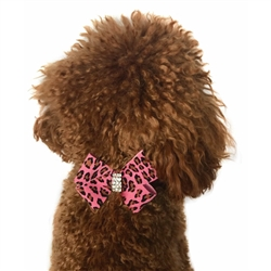 Pink Leopard Westminster First Bow Slider