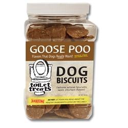 """""""Goose Poo"""" - Chicken Toilet Treats Dog Biscuits (16oz.)"""