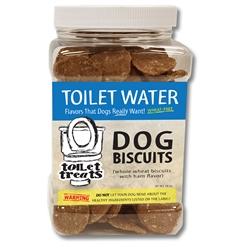 """""""Toilet Water"""" - Ham Toilet Treats Dog Biscuits (16oz.)"""