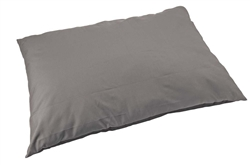 "Sleep Zone 36"" Water Resistant Pillow Dog Bed -Gray"