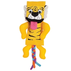 ZOOBILEE FIREHOSE TIGER DOG TOY