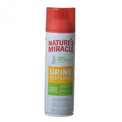 NATURE'S MIRACLE JUST FOR CATS URINE DESTROYER FOAM 17.5OZ
