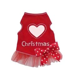 Christmas Love Dress - Red