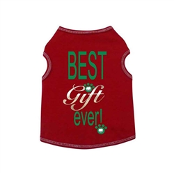 Christmas Best Gift Ever Tank  - Red