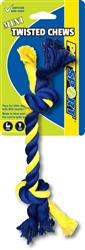 Twisted Chews Mini 2 Knot Rope 8""