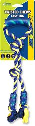 """Twisted Chews Easy Tug 18"""" Rope With TRP Handle"""