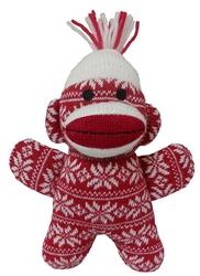 Crystal Holiday Baby Sock Monkey by Lulubelles Power Plush