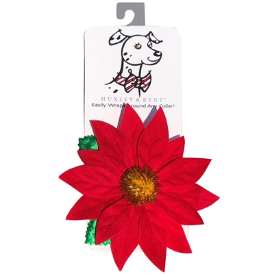 Poinsettia Flower by Huxley & Kent