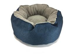 Catalina™ PLUSH Beds for Cats & Small Dogs - Poly Canvas with Fleece