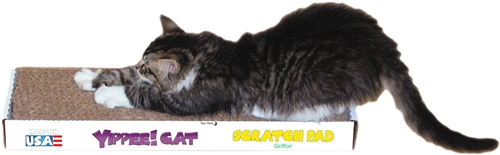Yippee! Cat Basic Scratch Pad