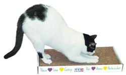 Yippee! Cat Big Scratch Pad