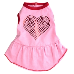 Bling Heart Dress