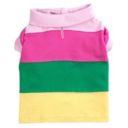 Pastel Colorblock Polo