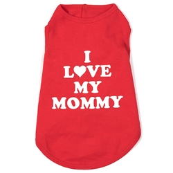 I Love Mommy Tee