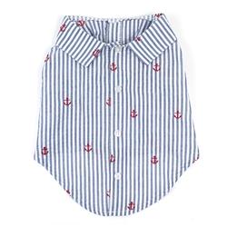 Navy Stripe Anchor Shirt