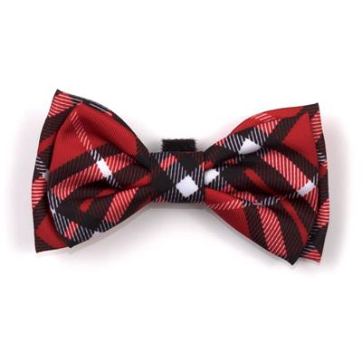 Bias Plaid Red Collar & Lead Collection