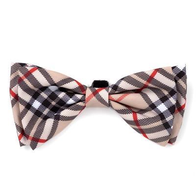 Bias Plaid Tan Collar & Lead Collection