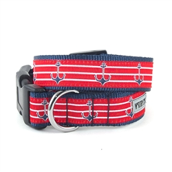 Anchors Dog Collar & Lead Collection