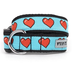 Graphic Hearts Collar & Lead Collection