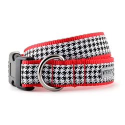 B&W Houndstooth Collar & Lead Collection