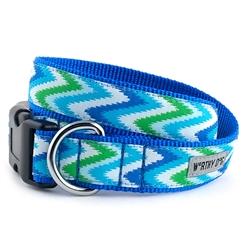 Static Chevron Blue Collar & Lead Collection