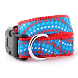 Tidal Wave Red, White and Blue Collar & Lead Collection