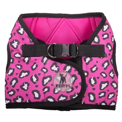 Sidekick Printed Cheetah Pink Harness