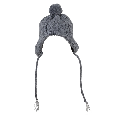 Grey Toboggan Hat