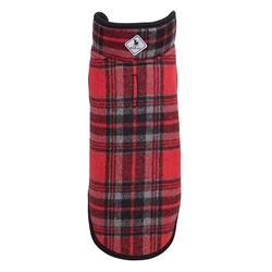 Red/Black Plaid Alpine Jacket
