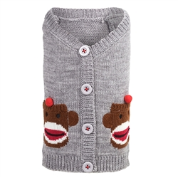 Sock Monkey Cardigan