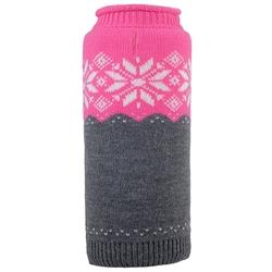 Ski Lodge Fuchsia Roll Neck Sweater