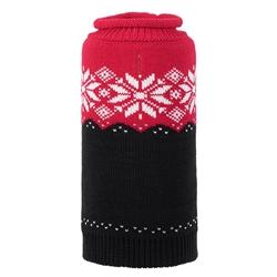 Ski Lodge Red & Black Roll Neck Sweater