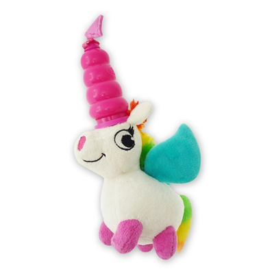 MEGA MUTTS Hush Plush - Unicorn - Small 4 Pack $20.28 ($5.07 EA)