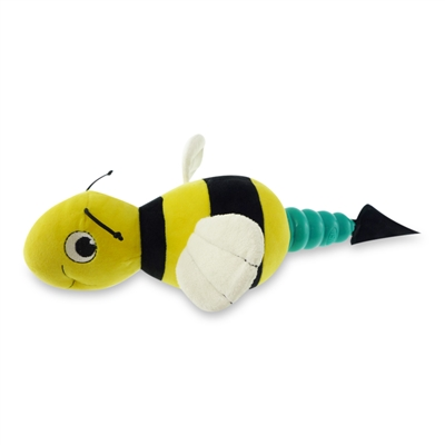 MEGA MUTTS Hush Plush - Bumble Bee - Large 4 Pack $26.72 ($6.68 EA)