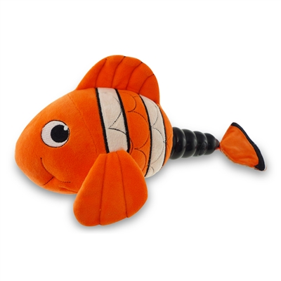 MEGA MUTTS Hush Plush - Clown Fish - Large 4 Pack $26.72 ($6.68 EA)