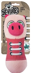 Chew Shoes - Pig - Large - 4 Pack