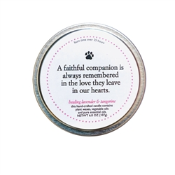 Faithful Companion Memorial Candle Kit